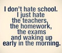 funny quotes about school - Google Search