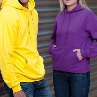 COLLEGE HOODIE, over 15 fabulous colour options