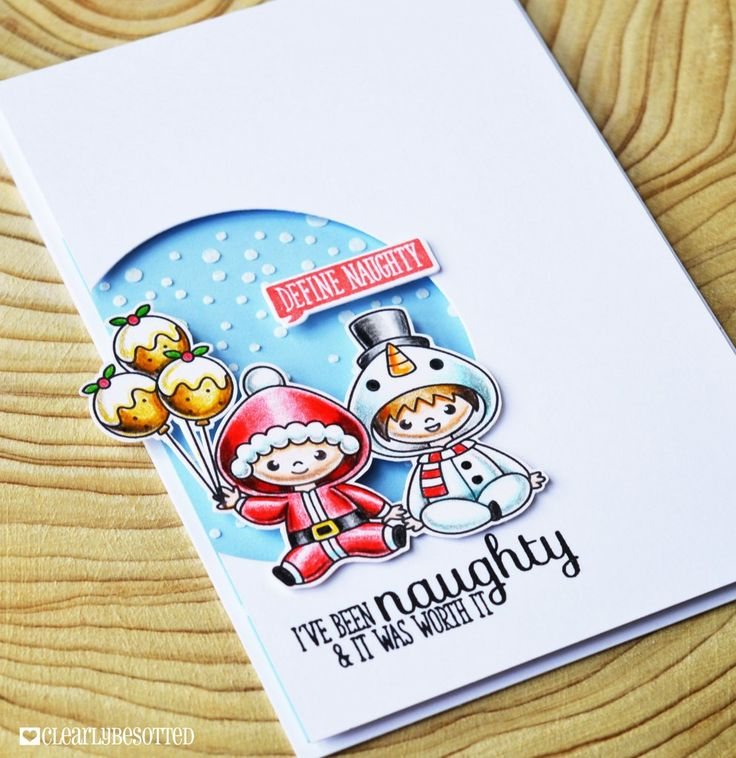Clearly Besotted Stamps All In Onesie Christmas | Clearly Besotted Stamps