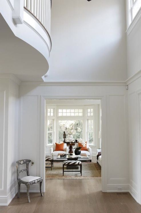 Converting Two Story Foyer : Best ideas about two story foyer on pinterest