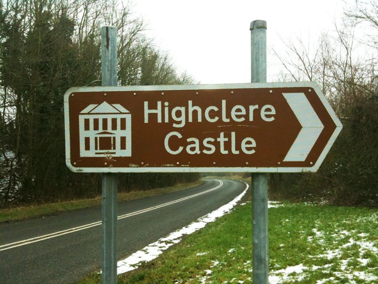 Highclere Castle, the setting for Downton Abbey