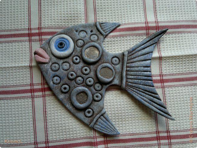 Поделка изделие Лепка Золотые рыбки - солёнушки Часть 1 Тесто соленое фото 9