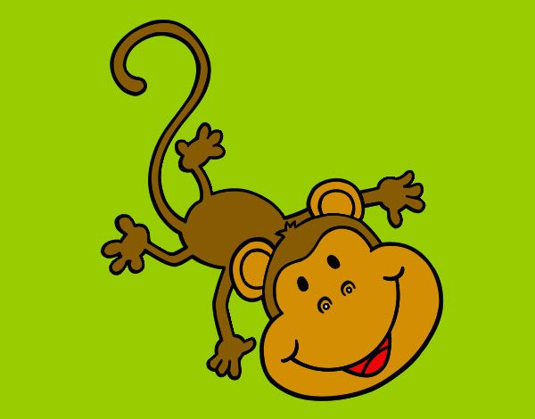 mono en selva dibujo - Buscar con Google
