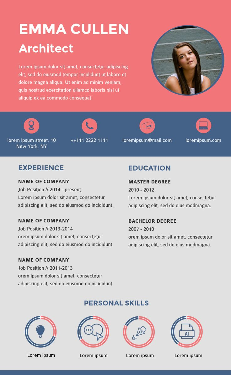 46 Best Infographic Resume Ideas Images On Pinterest Resume