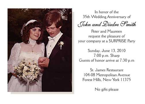 Surprise Wedding Anniversary Invitations: 23 Best Mom And Dad's 35th Anniversaryl Images On
