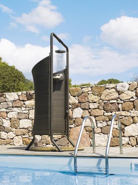 Doccia esterna RICHMOND Caneline Design della doccia
