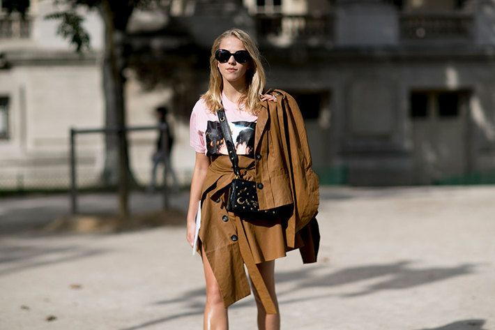 Спортивные штаны с лоферами Gucci и богемные платья и грубыми ботинками | Журнал Harper's Bazaar