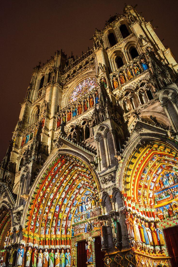 Cathedrale avec couleurs d'origine - Amiens - France - by Horus Nikopol ᗓ on 500px