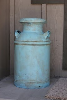 Milk Can Redo T: White Gardens, Ideas, Houses, Flowers Fields, Stuff, Color, Old Milk Cans, Children, Crafts