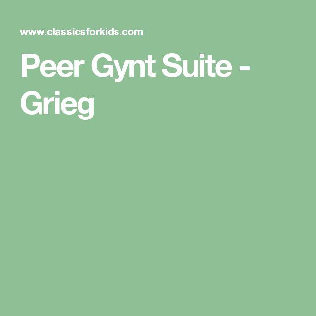 Peer Gynt Suite - Grieg