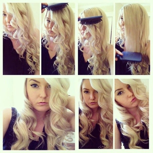 40 best hotheads tips images on pinterest hair extensions hotheadshairextensionss photo hollywood natural waves by katie blake curl your hair going pmusecretfo Images