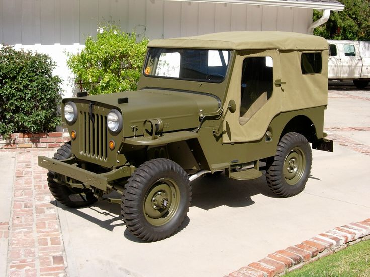 Willys cj3b m606 vintage cars jeeps motorcycles for Sarge automobiles garage serus