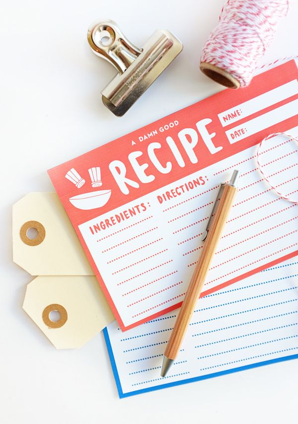 1000 Images About Recipe Cards Amp Menu Planning On