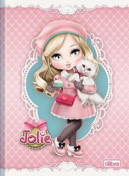 Caderno Superbrochura 1/4 Jolie 48fls