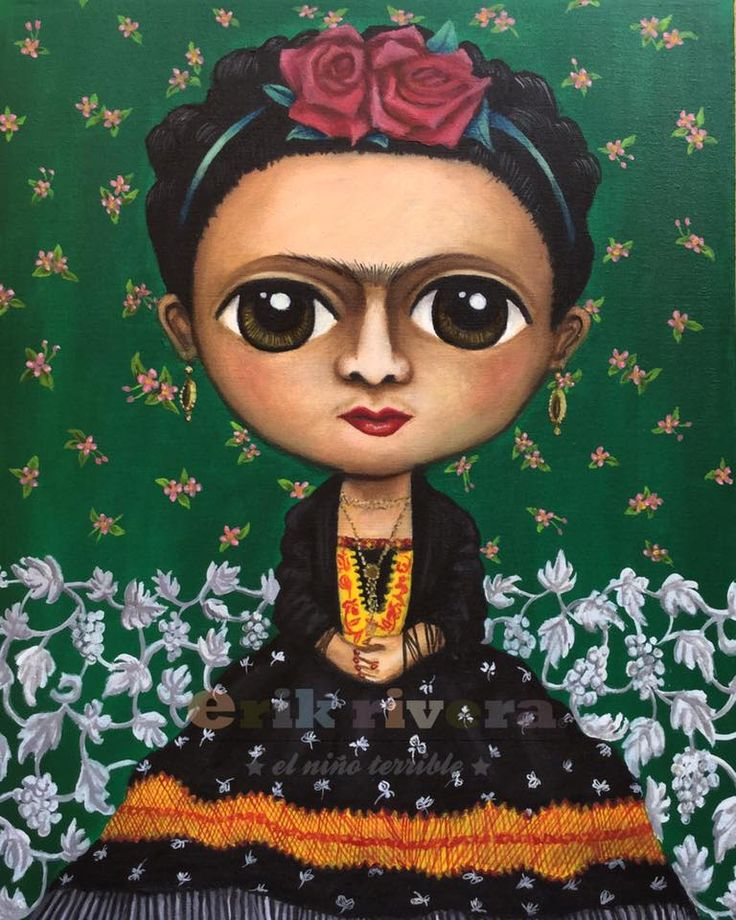 y Frida Kahlo La Niña de mis Ojos Retrato Murray, 2015 óleo/tela 45 x 60 cm
