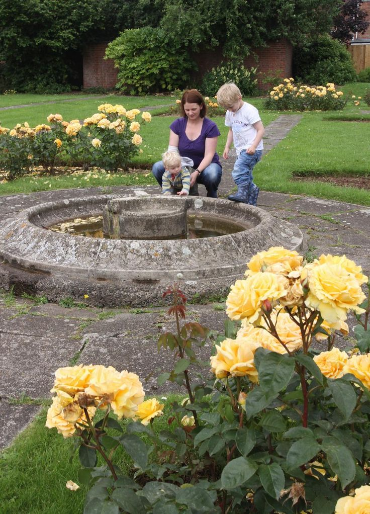 """""""Blake Gardens"""" provide a haven of tranquillity in the bustle of Bridgwater's town centre - an amenity for community and visitors alike."""