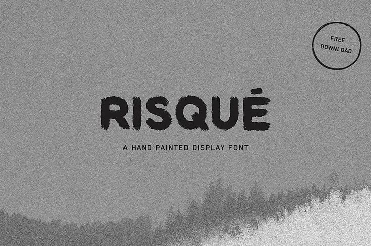 Risque – Free Font