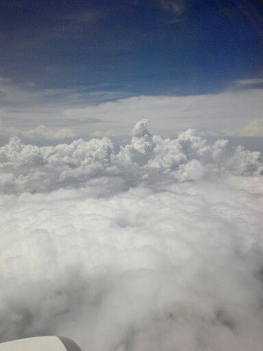 And the clouds was great.