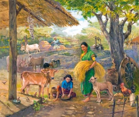 Working Family | Paintings | Pinterest | Pictures, Scene ...