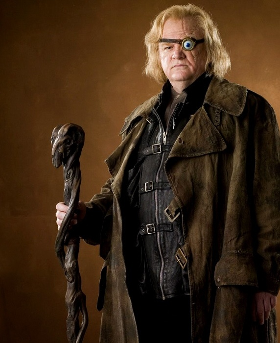 Harry Potter 30 Day Challenge - I fell behind.  This is Day 5 - Your favorite male character and why.  Mad-Eye Moody - Because he turned Draco into a ferret.  That is badass.  I bet his patronus is the honey badger.  He don't give a crap.