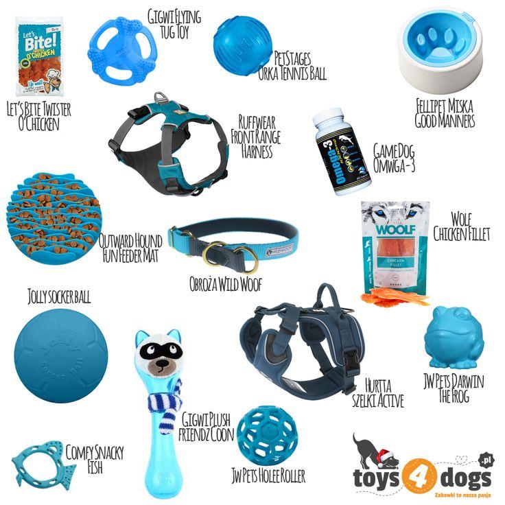 Niebieskie zabawki dla psów  #niebieski #zabawki #dlapsa #toys4dogs #psiak