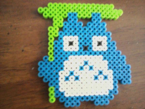 Totoro hama beads