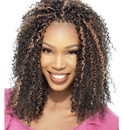 Model Glance Synthetic Braiding Hair Soft Water Shop For Extensions At