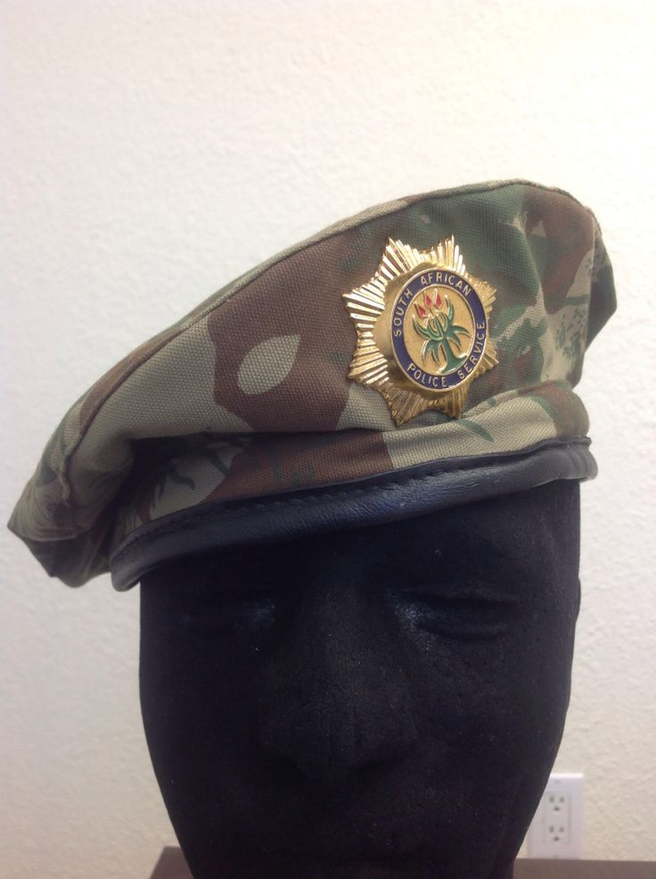 SA Police Service Special Task Force camo beret