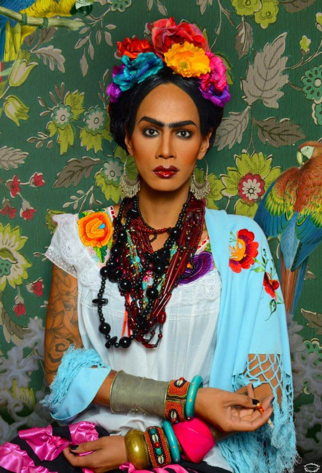 ❀ Flower Maiden Fantasy ❀ beautiful photography of women and flowers - Raja Gemini as Frida