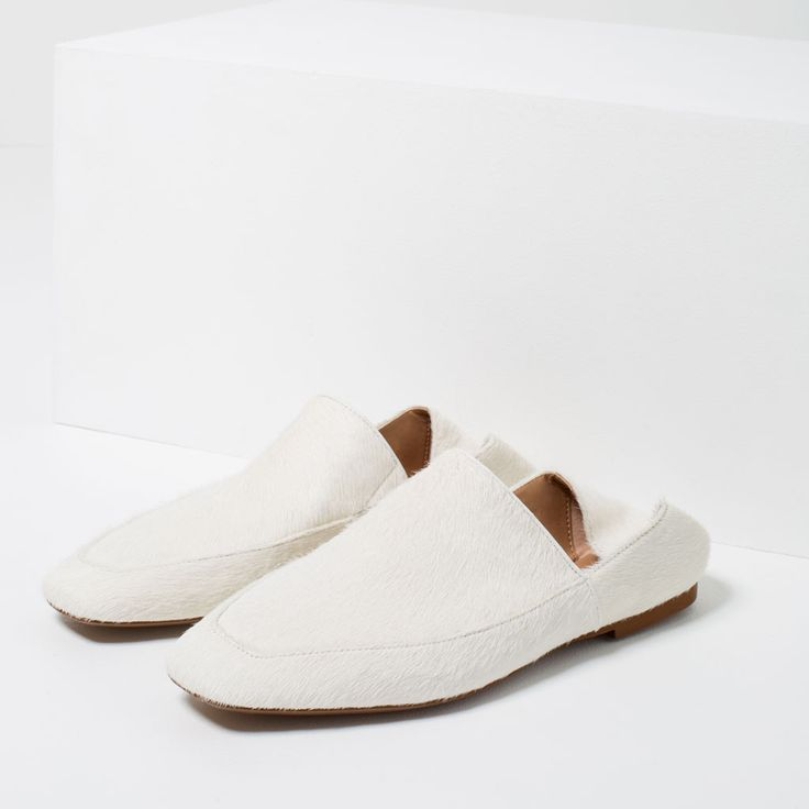FLAT LEATHER SHOES-View all-SHOES-WOMAN | ZARA United Kingdom