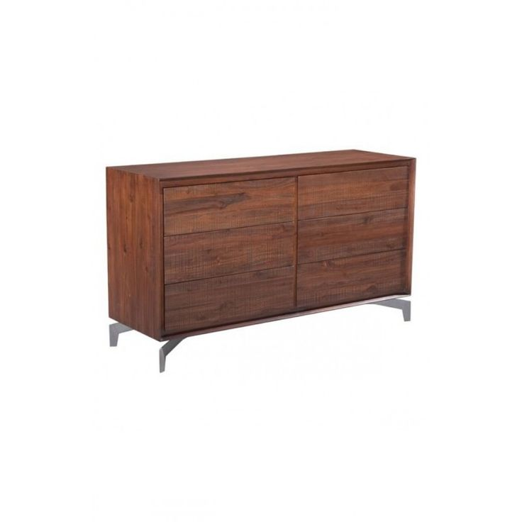 Perth Double Dresser Chestnut Dimensions X
