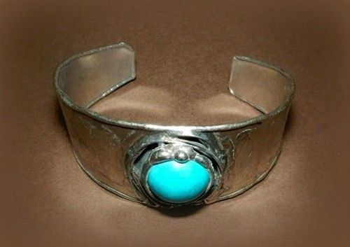 http://megasilver.pl/Bransoleta-p361 #Bracelet #metalwork #handmade #blue #turquoise #stone #jewelry #jewellery