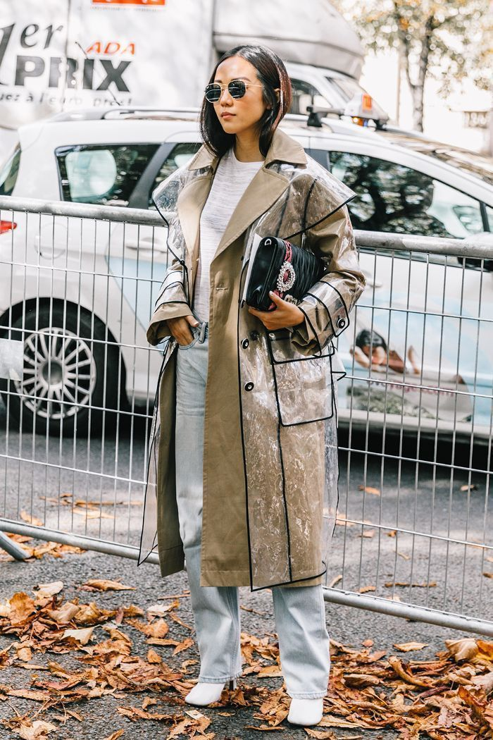 What is the most stylish way to get dressed for winter? Here are the best winter jacket outfits from the street style scene. #RaincoatsForWomenChic