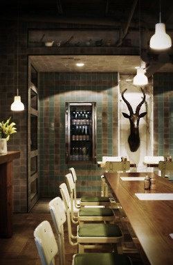 .Dining Rooms, Ceramics Design, Outpost Dining, Hassel, Restaurants Interiors, Interiors Design, Yarra Lane, Design Studios, Hospitals