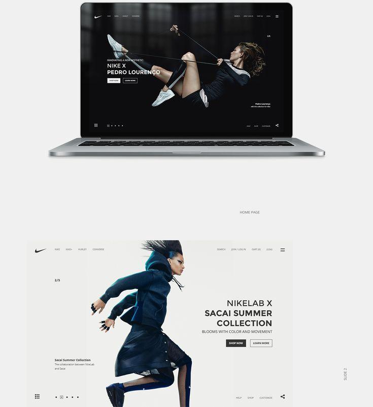 Nike 440 UI Design | Abduzeedo