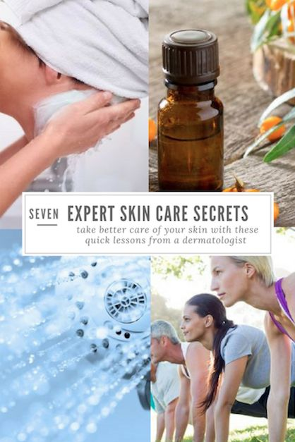 It's no secret that drinking more water, getting a good night's sleep and eating healthy can improve the longevity and look of your skin. But there are other simple things you can do to make your skin glow.