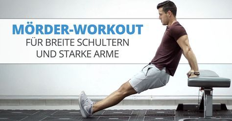 Mörder-Workout für breite Schultern und starke Arme – Christian Conrad