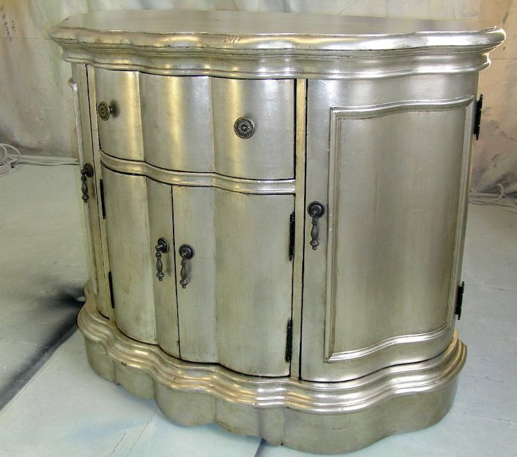 1000 Ideas About Silver Painted Furniture On Pinterest Silver Paint Painted Furniture And