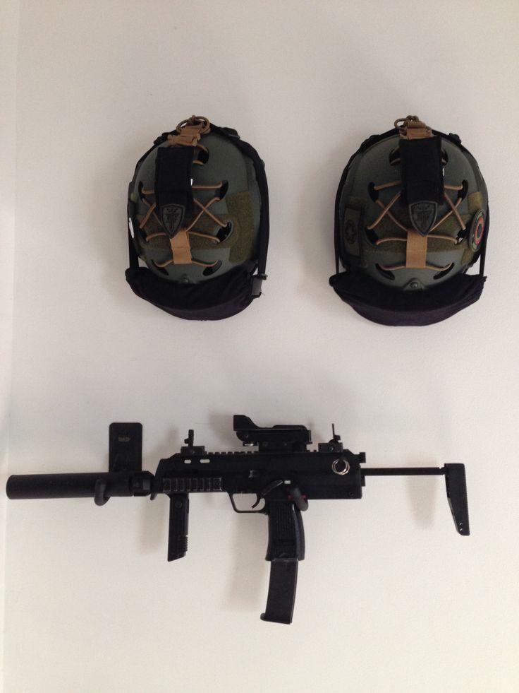 H&K MP7 GBB casco táctico