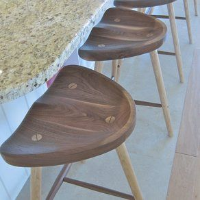More tractor seats. Stasis Stool custom made by Appalachian Joinery