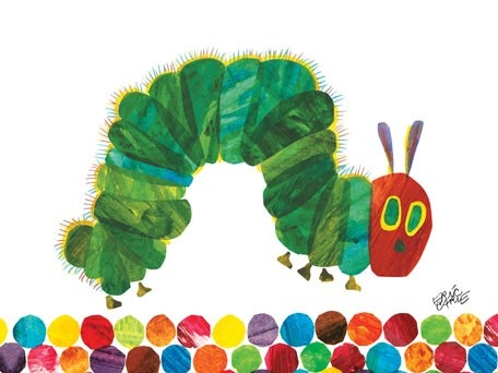 """""""Eric Carle's Very Hungry Caterpillar"""" - Canvas Wall Art by Eric Carle from Oopsy daisy, Fine Art for Kids"""
