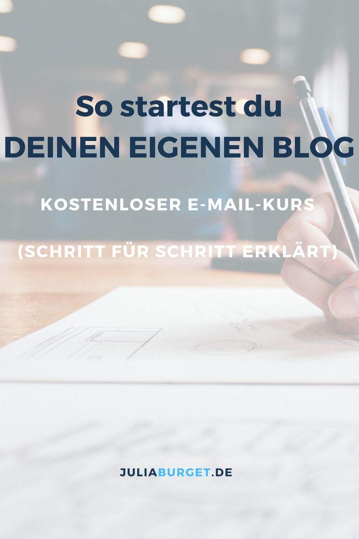 So startest du deinen eigenen Blog. Wie das geht, erfährst du Schritt für Schritt in diesem E-Mail-Kurs..Blogger Tipps, Blog Tipps, Blog erstellen, Blog Anfänger, Blog schreiben, Blog deutsch, Blog Ideen, Blog erfolgreich, Blog Reichweite, Blog eröffnen, Blog erstellen WordPress, Blog Aufbau, Blog bekannt machen, Blog challenge, Blog Checkliste, Blog design, Blog layout, Blog kostenlos, Blog Konzept, Blog Foto Ideen, Blog geld verdienen, Blog gestalten, Blog Inspiration, Blog marketing, Blog…