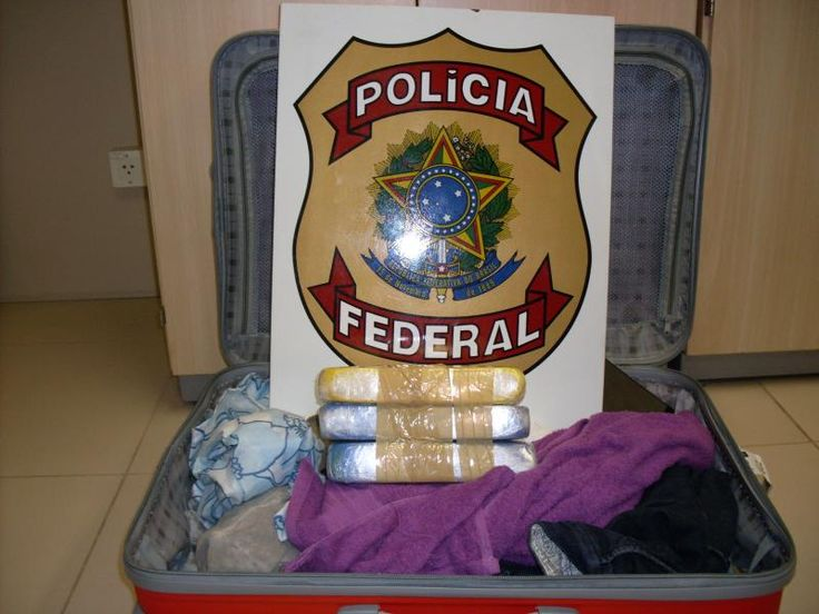 PF faz a 6° apreensão de cocaína no aeroporto de São Luís neste ano
