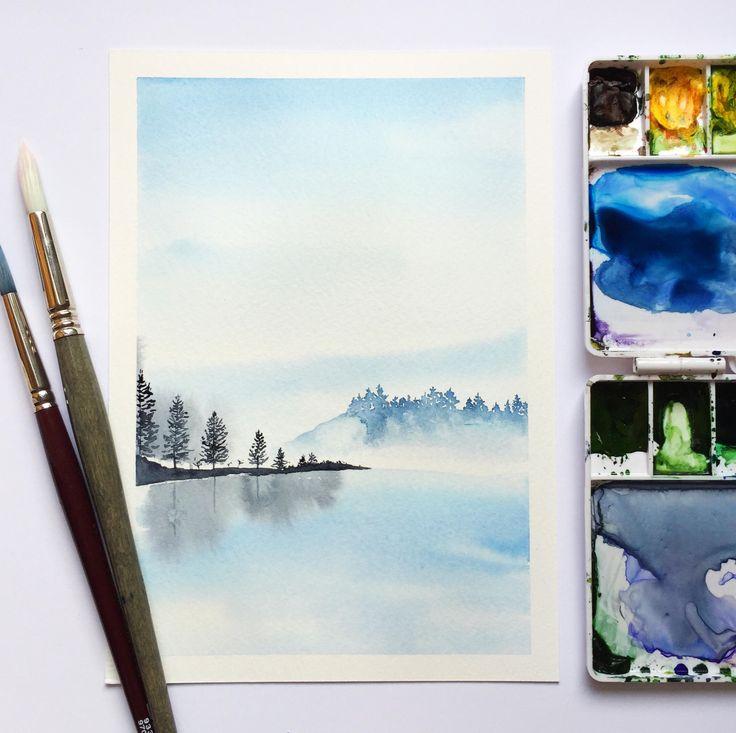 Just added to my shop: Mist original watercolour painting https://www.etsy.com/listing/560574411/mist-original-watercolour-painting?utm_campaign=crowdfire&utm_content=crowdfire&utm_medium=social&utm_source=pinterest