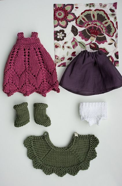 Lovely outfit for a beautiful doll.