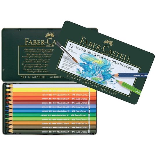 Faber Castell Albrecht Durer Artists Watercolor Pencils