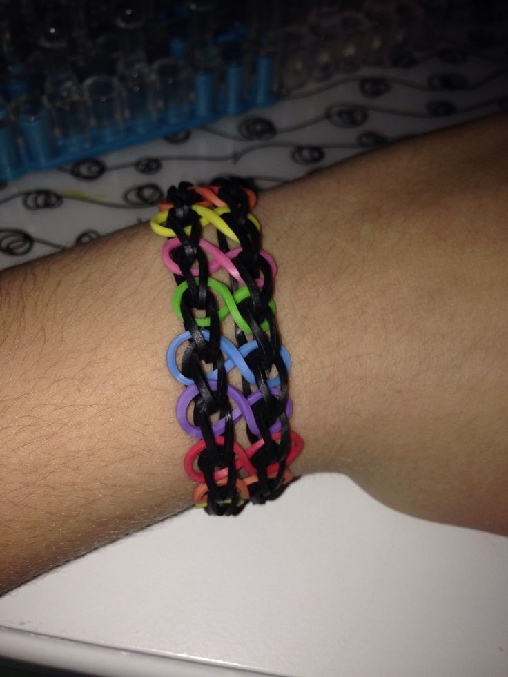 rubber band bracelet loom instructions