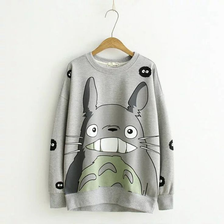 Lovely Tonari no totoro concept unisex hoodies cute anime fans Totoro hoodies for girl DX01 #Affiliate