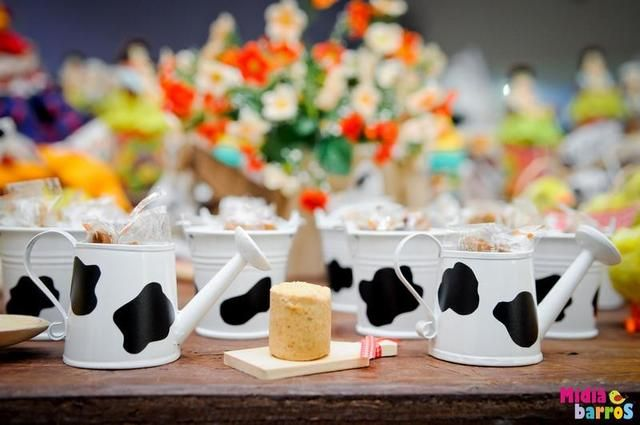 Decorations at a Farm Party #farm #partydecor