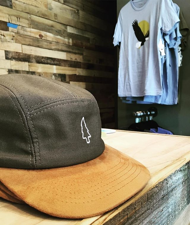 Sometimes All It Takes Is A Simple Tree On Your 5 Panel Hat With A Suede Brim To Get The Attention Of Others Made For Panel Hat Hat Manufacturing 5 Panel Hat